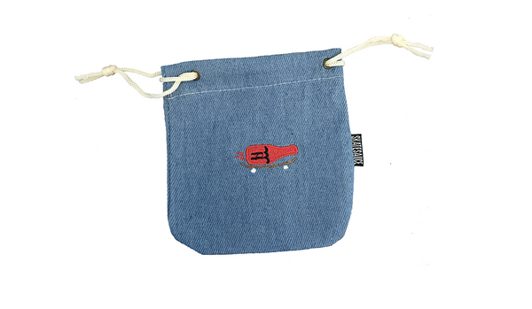 DENIM WAX BAG