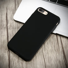 Durable, Ultra Slim, Silicone Cases. Available for all iPhone models. Black