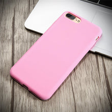 Durable, Ultra Slim, Silicone Cases. Available for all iPhone models. Pink
