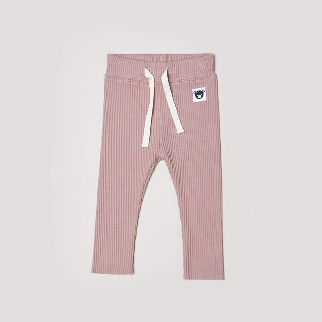 Berry Rib Legging - Huxbaby