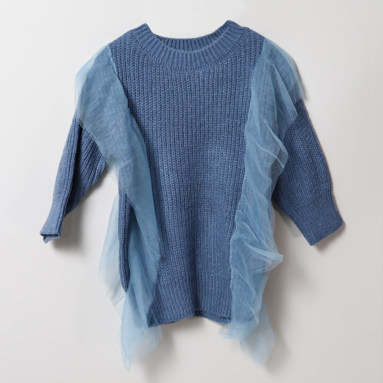 Libra Sweater Dress - Blue