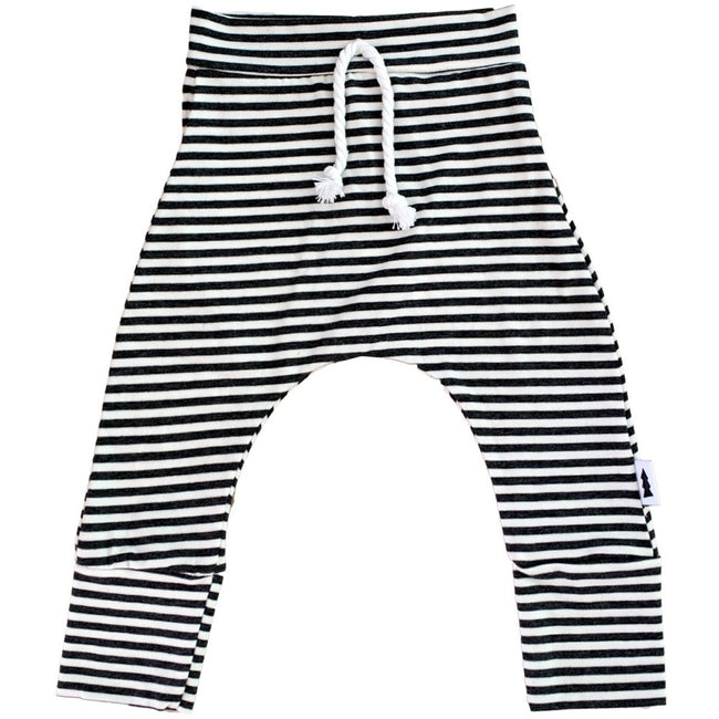 Joggers (Striped Charcoal) - by North Kinder