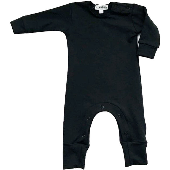 Long Romper (Black) - by North Kinder