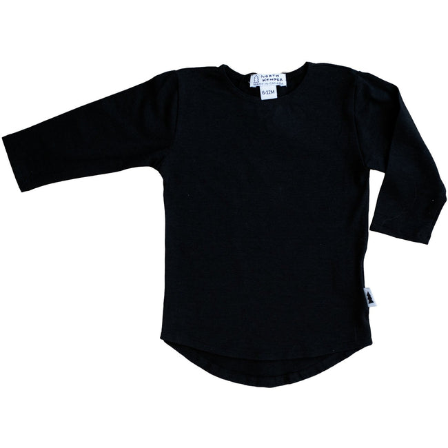 Long Sleeve Shirt (Black) - North Kinder