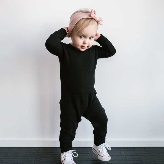 Long Romper (Black) - North Kinder