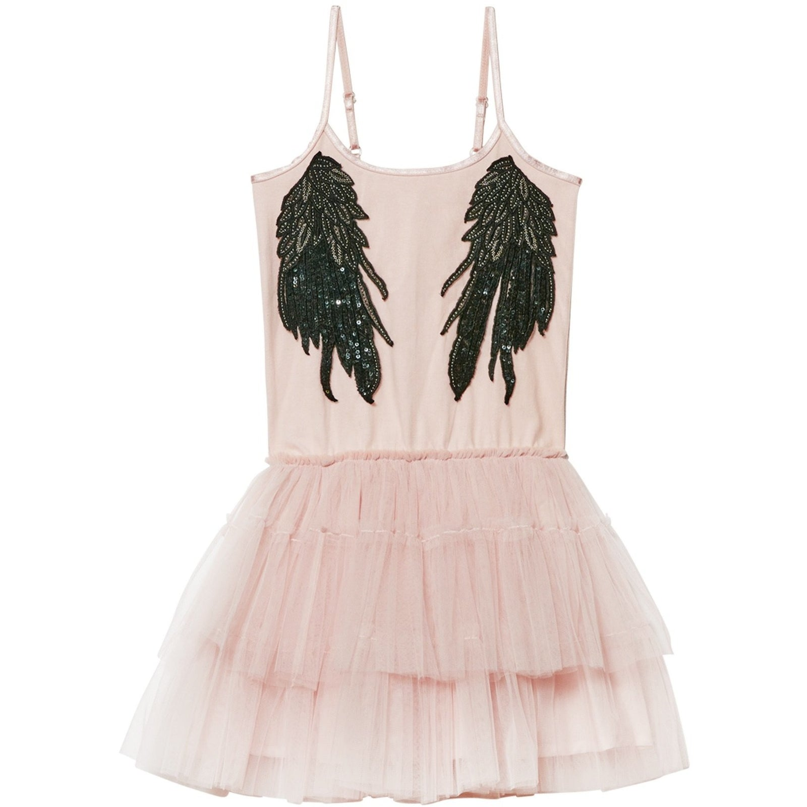 Whispers in the Wings Tutu Dress (Tea Rose) - Tutu du Monde
