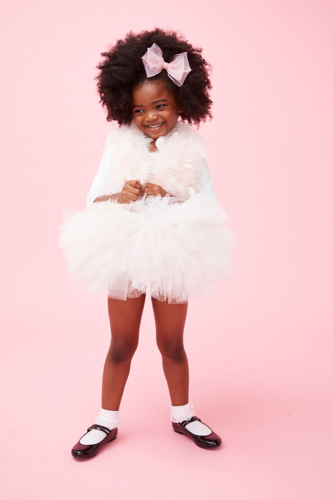Shirley Long Sleeve Tutu - Plum NYC