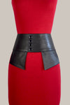 The Jacqui Corset Leather