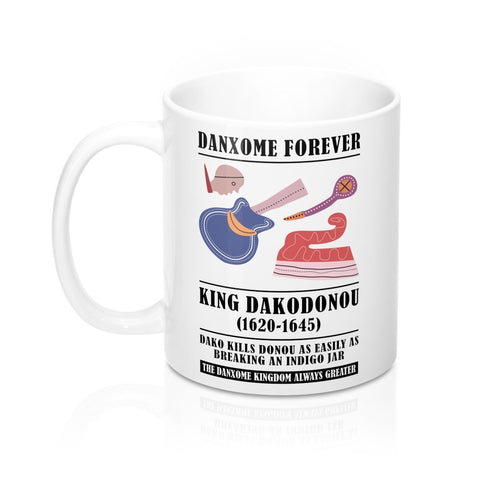 Mug Blanc King DAKODONOU