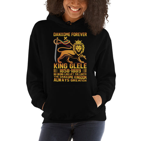 Sweat-shirt capuche au look modern King GLELE