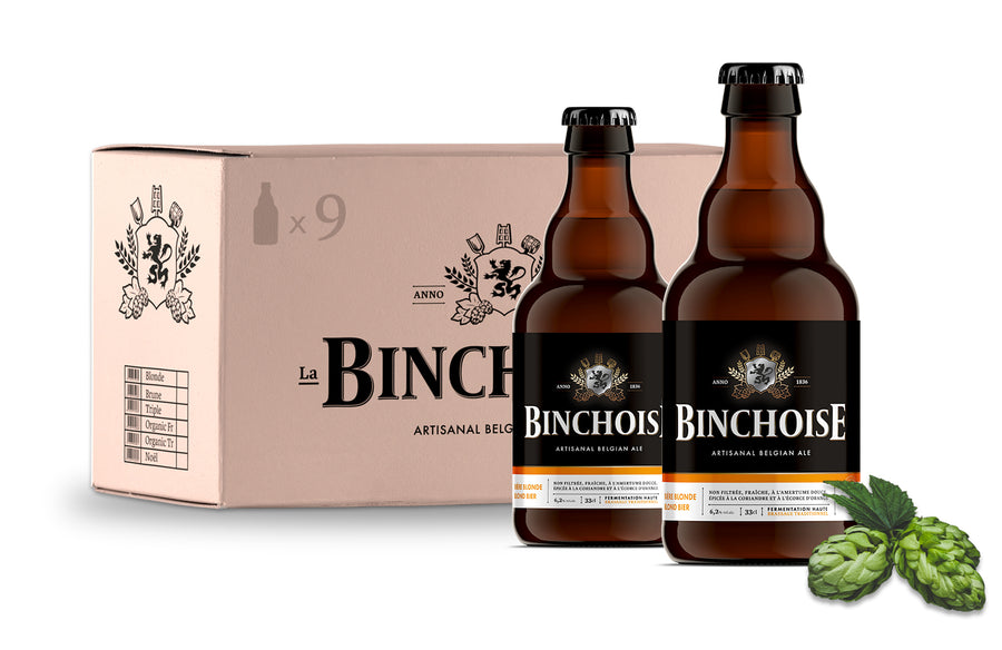 Pack Binchoise Blonde 9x33cl