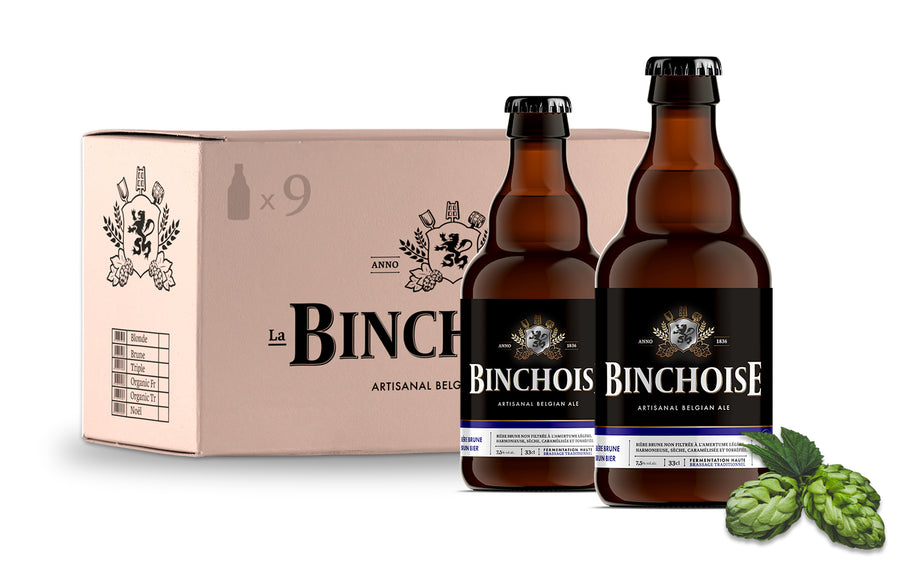 Pack Binchoise Brune 9x33cl