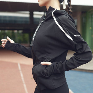 Winter Workout Cardigan - Women's Sport Coats