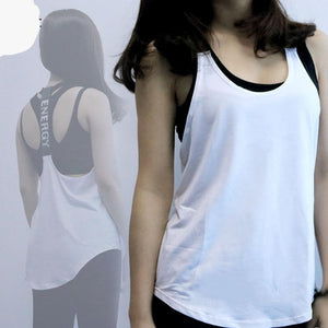 Sport Yoga Tops - Sleeveless