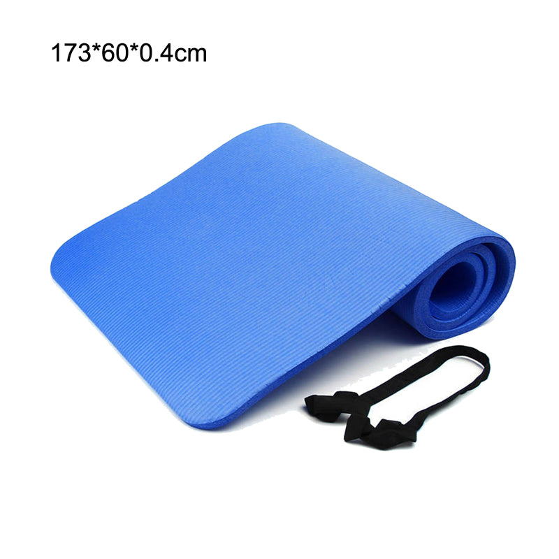 Anti-slip Sports Yoga Mat with Position Line For Beginners