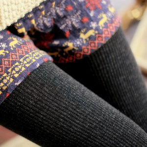 Warm Knitted Leggings