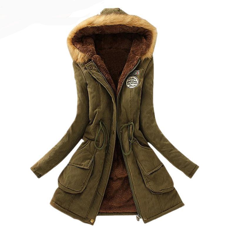 New Parkas -  Female Women Winter Coat