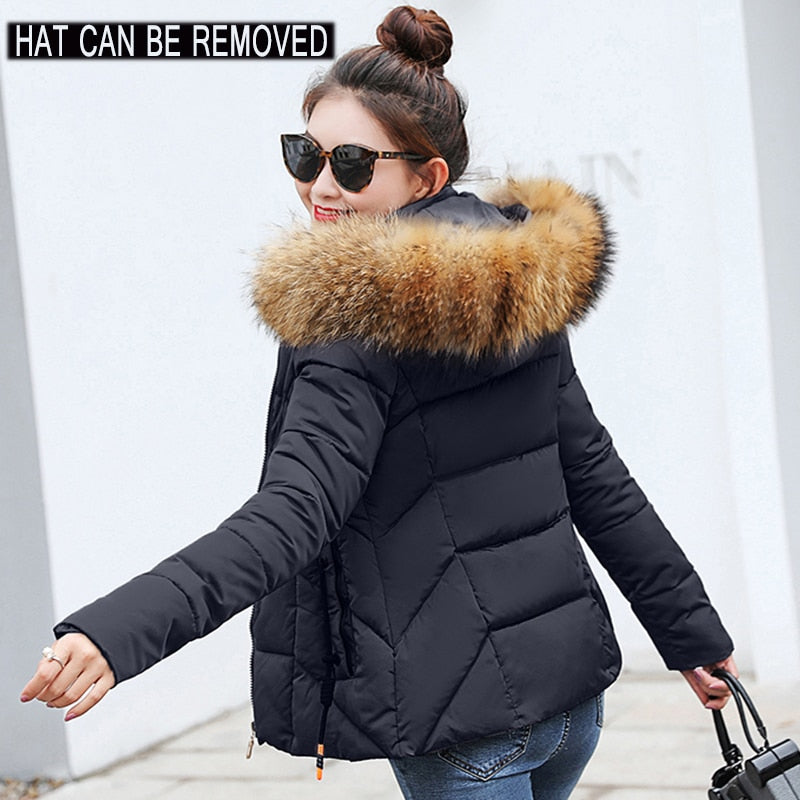 2019 Winter Jacket Women- Plus Size Womens