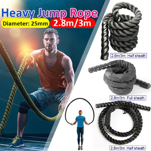 Fitness Heavy Jump Rope Crossfit - 25 mm