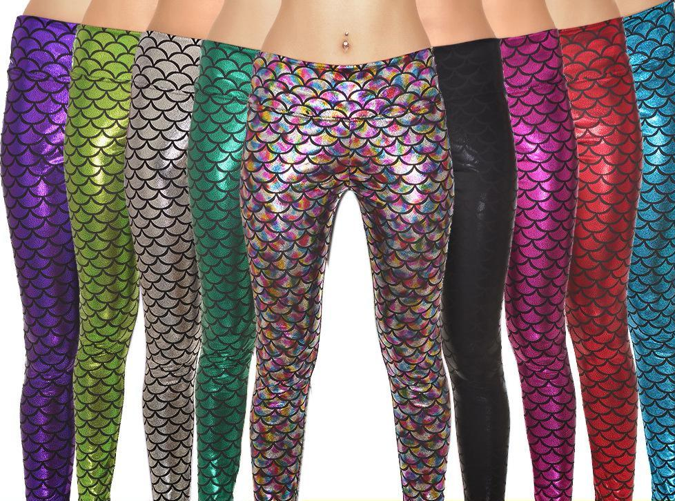 Tall girl leggings and plus sizes- exciting designs- scales printed leggings