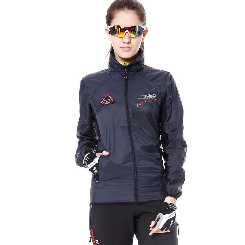 NEW women windproof anti-wrinkle breathable cycling jacket