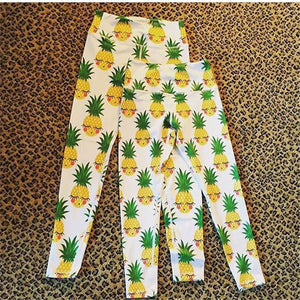 Charming Smile Pineapple Fitness Leggings - Workout Gymwear