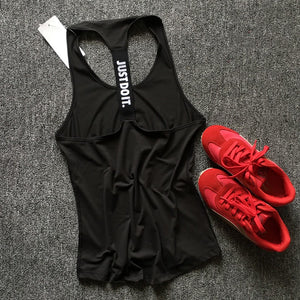 Women Gym Sleeveless Yoga Tops