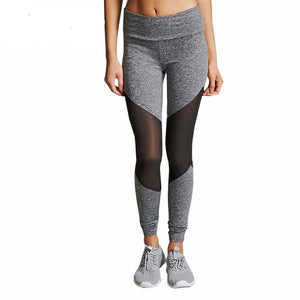 Fitness Yoga Sports Tight Mesh Pant