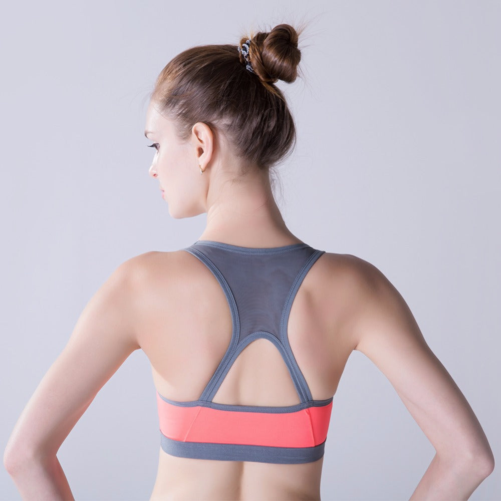 "Women Padded Yoga Shirt Sports Bras-""Cecilia"""