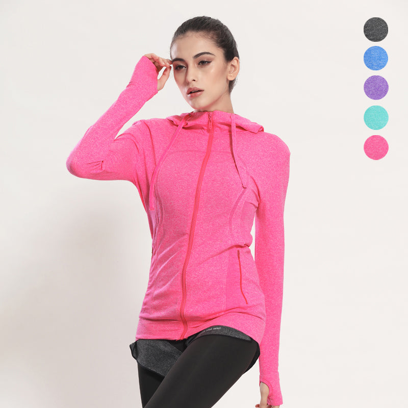 Women's Yoga Shirts Long Sleeve Yoga Tops - Sportswear Fitness