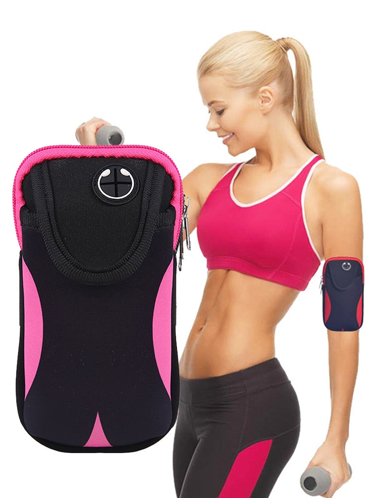 Athletic Bags- Universal Running Armband Arm Cell Phone Holder