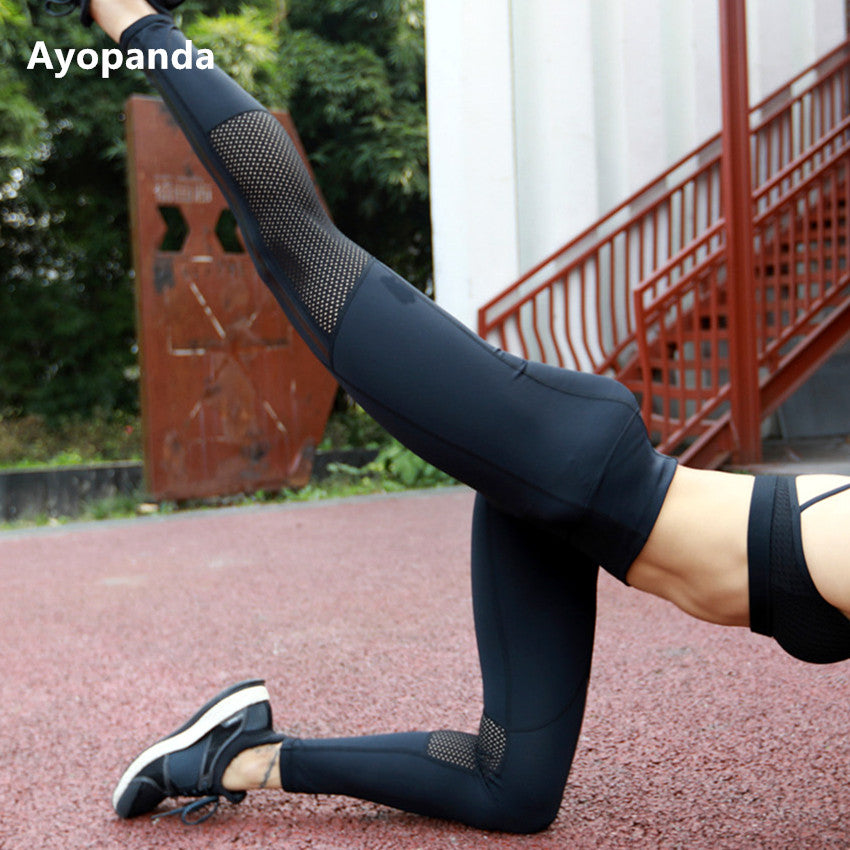 Women's Black Workout Leggings - Very Sharp!