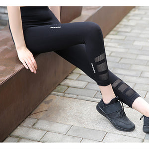 High Quality Reflective Running Tights - leggings