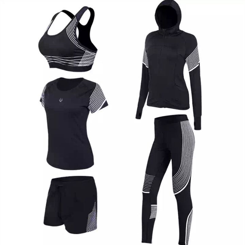 Brand New Sport Suits Women's Fitness Yoga Set