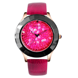 Women Exquisite Top Luxury Diamond Quartz Ladies Watch