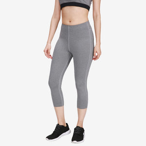 High Waist Calf-length Yoga Pants- Capri Style