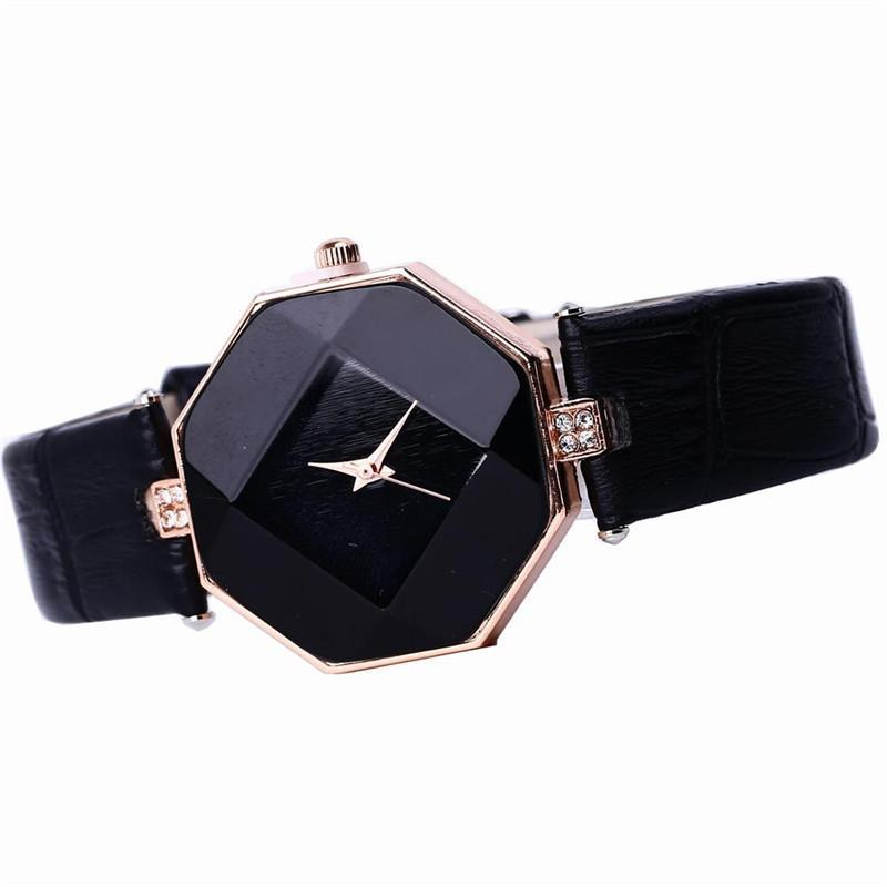 Blue Sapphire Gemstone Look Watch -Also Comes in a Few Colors