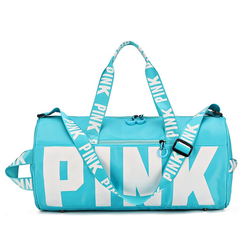 Big Capacity Gym Bags -PINK Pattern -Waterproof