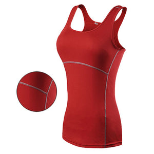 New Yoga Tops Women - Fitted- Solid color
