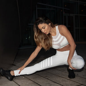 Plus Size Women Black or White fitness Workout Leggings