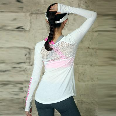 Women Yoga Fitness Clothing - Long Sleeve Top