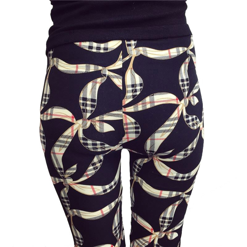Women Comic Leggings Cartoon Printed Leggings