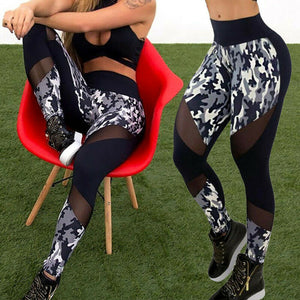Women's Sports Yoga Leggings Running Gym Workout Pants