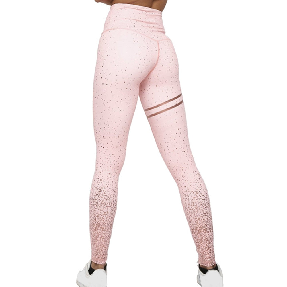 Compression Printed Gym Leggings Fitness - Sports