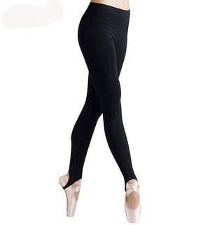 Women Skinny Stirrup Leggings-Ballet