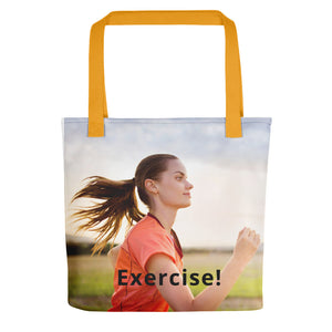EXERCISE! -Tote bag