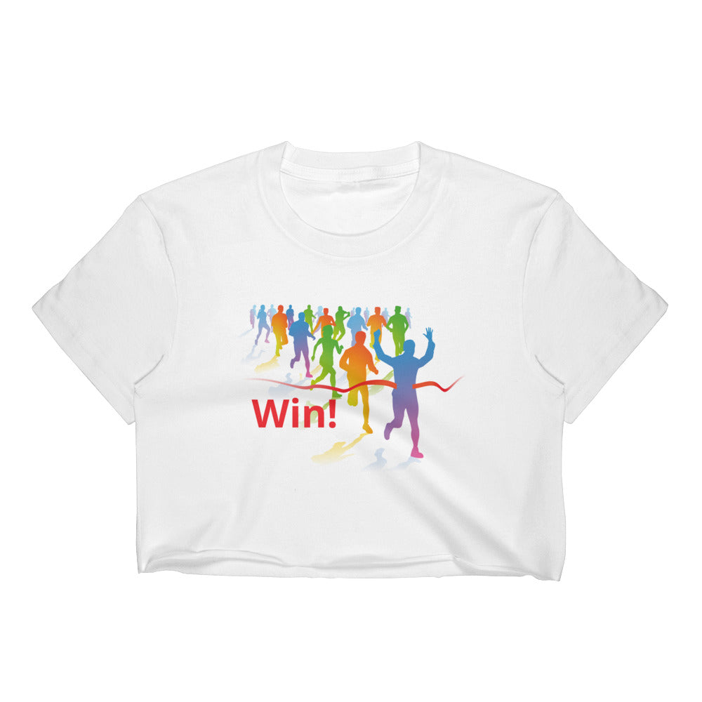 Win! - Women's Crop Top