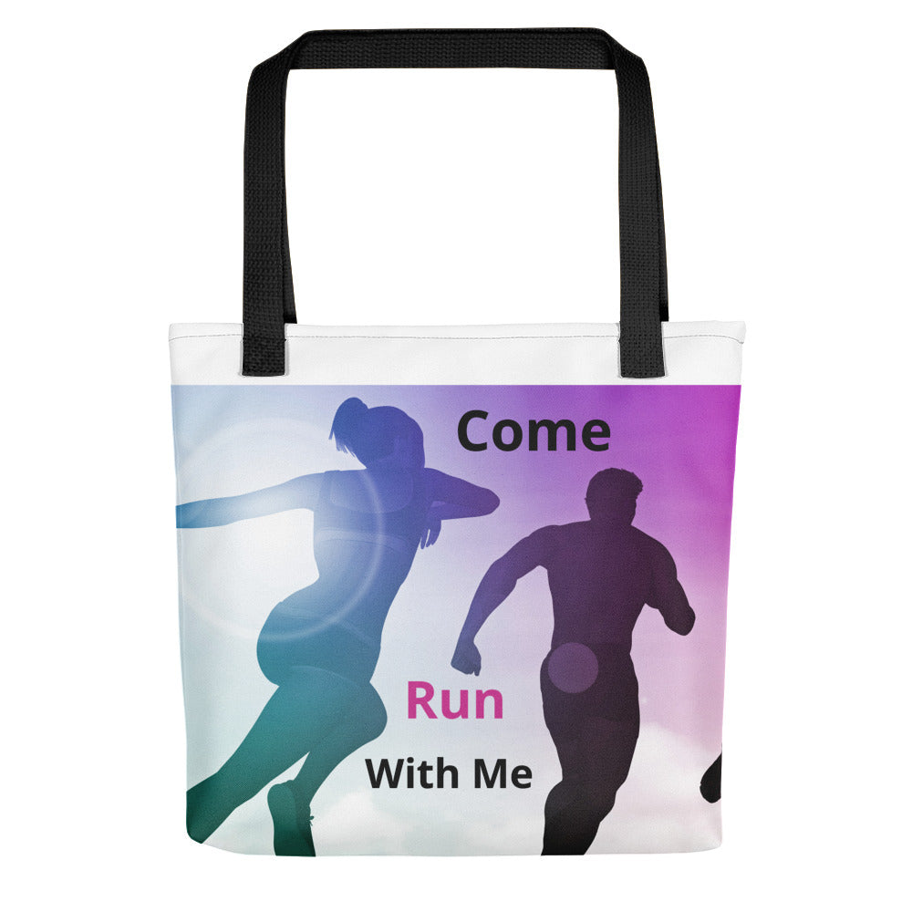 Come Run With Me - Tote bag