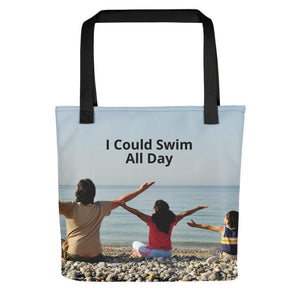 I Could Swim All Day-Tote bag