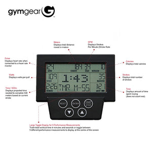 Gym Gear commercial rower